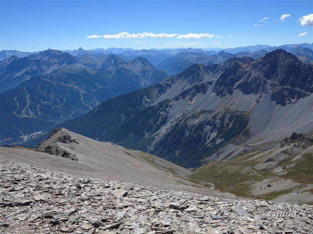 Pendii verso la Val Susa