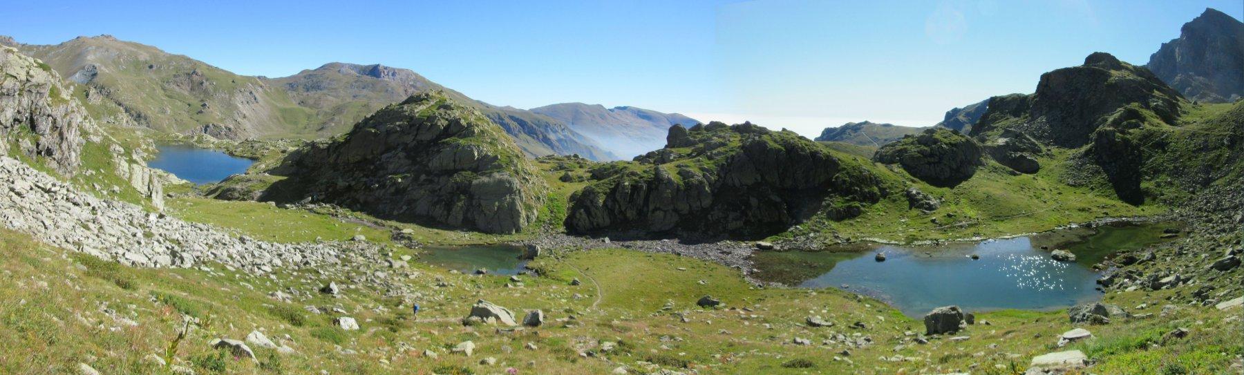Lago Superiore e Lago Lausetto