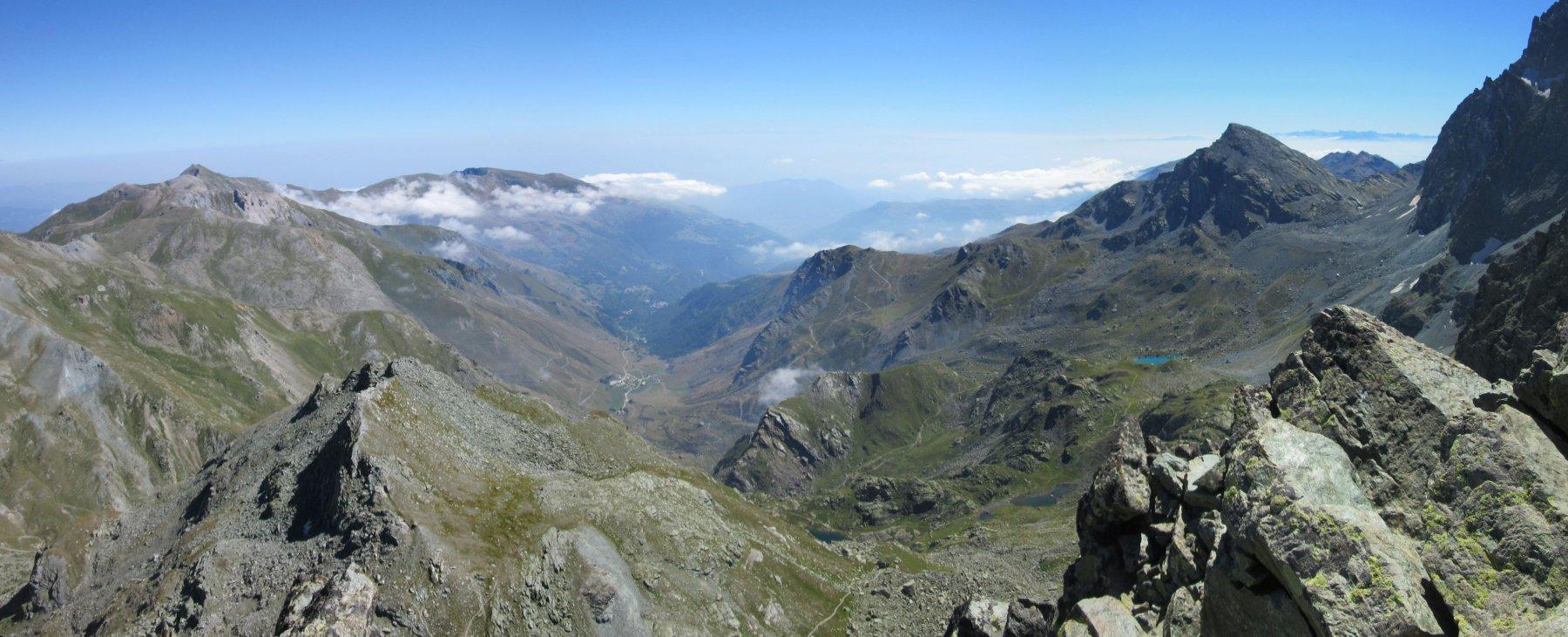Panorama dalla Punta Udine