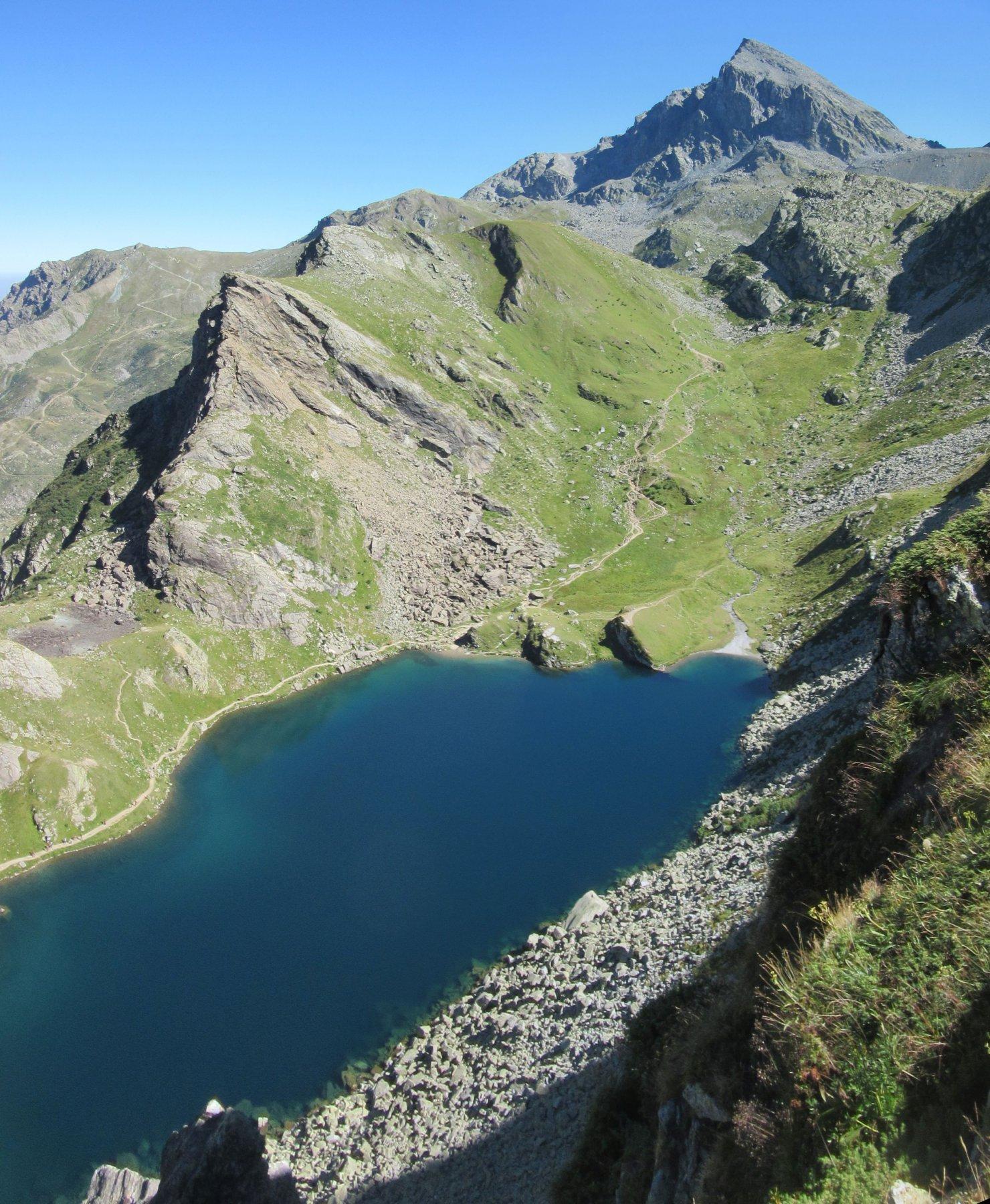 Lago Fiorenza e Viso Mozzo