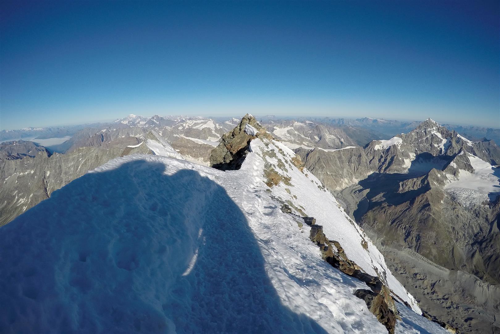 dalla cima Svizzera