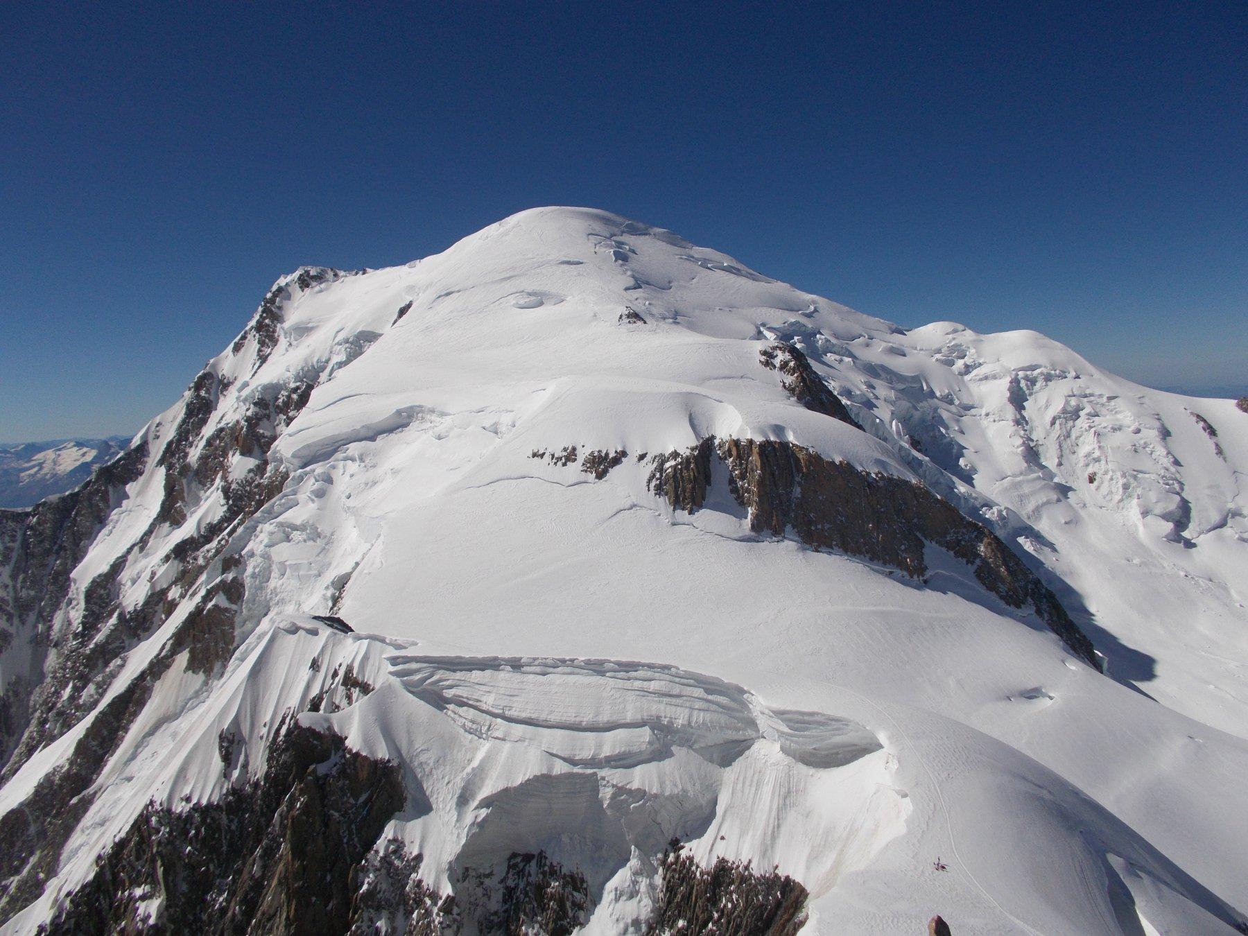 il Bianco..dal Mont Maudit..