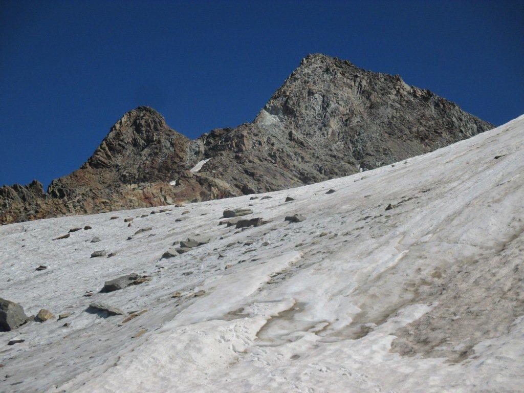 di ritorno sul ghiacciaio di Patrì