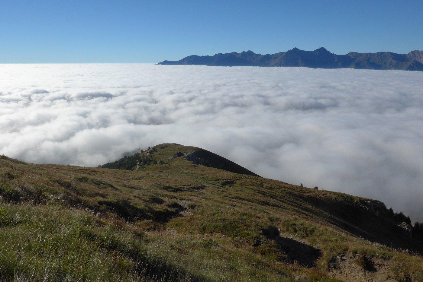 Mare di nuvole in valle