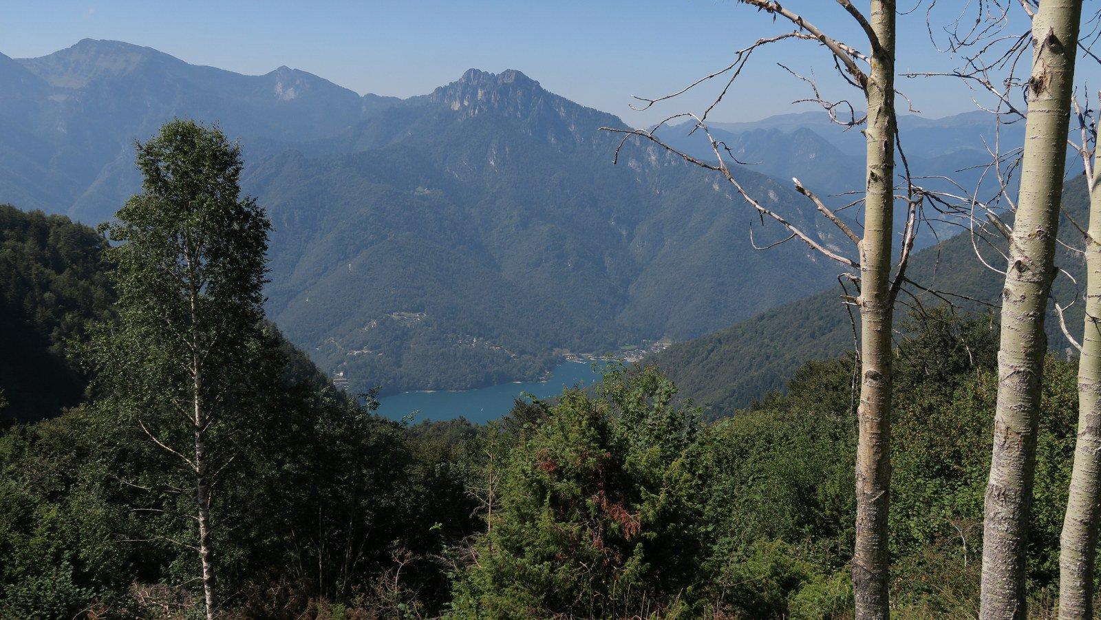 Lago di Ledro , alla fine tratto pedalabile