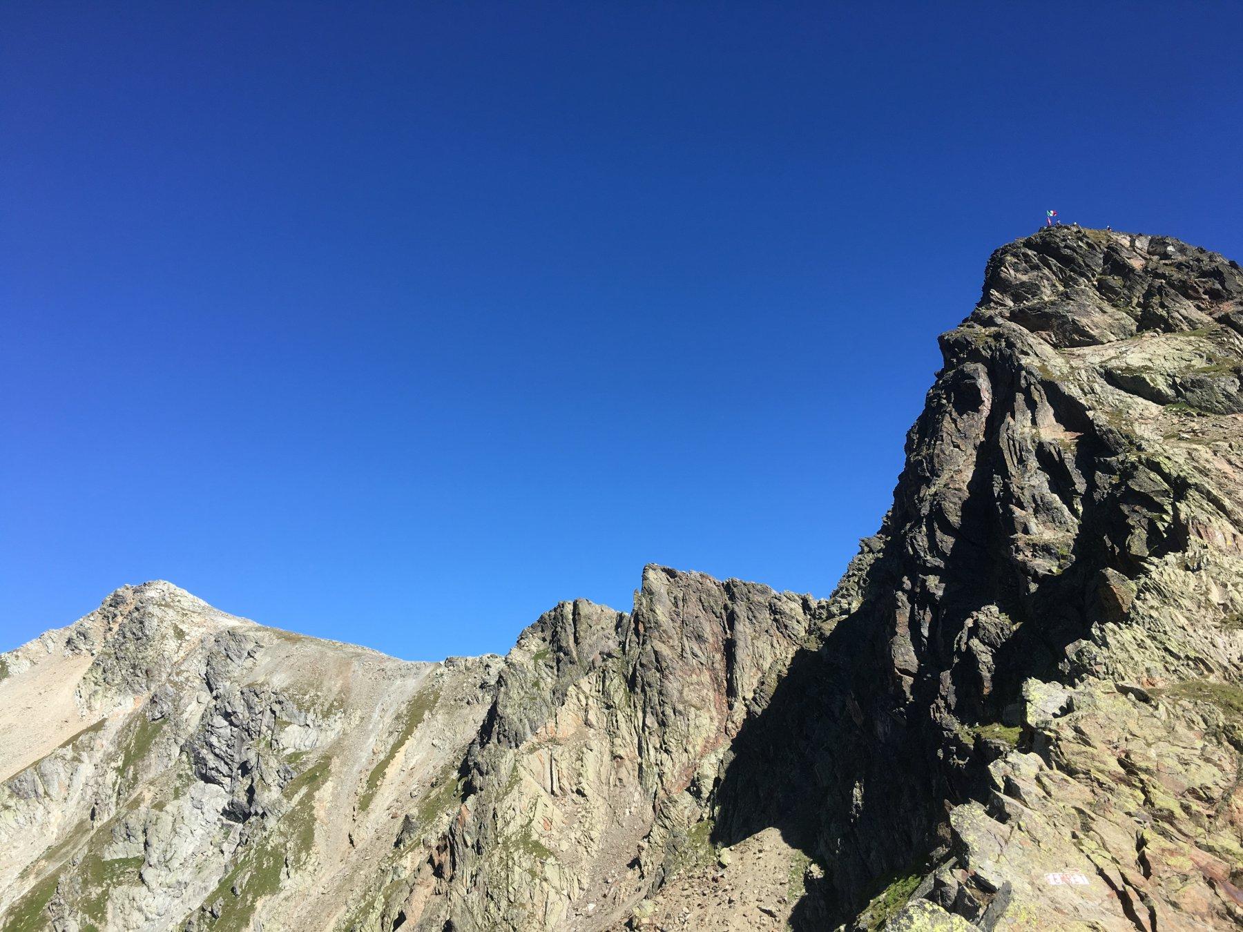 Drone (Pointe de) da Montagna Baus per la Cresta Ovest 2016-08-27