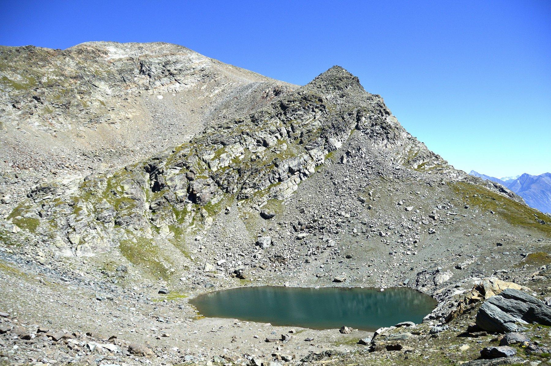 Lago Gelato e mont Glacier sullo sfondo