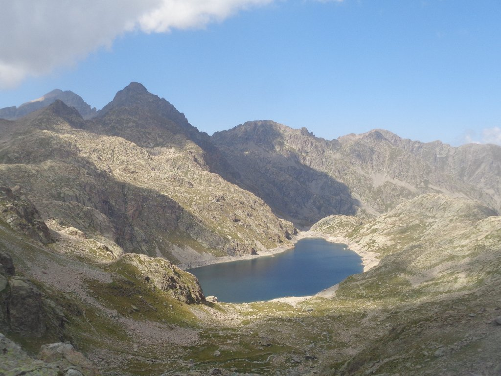 lac du Basto dal colle