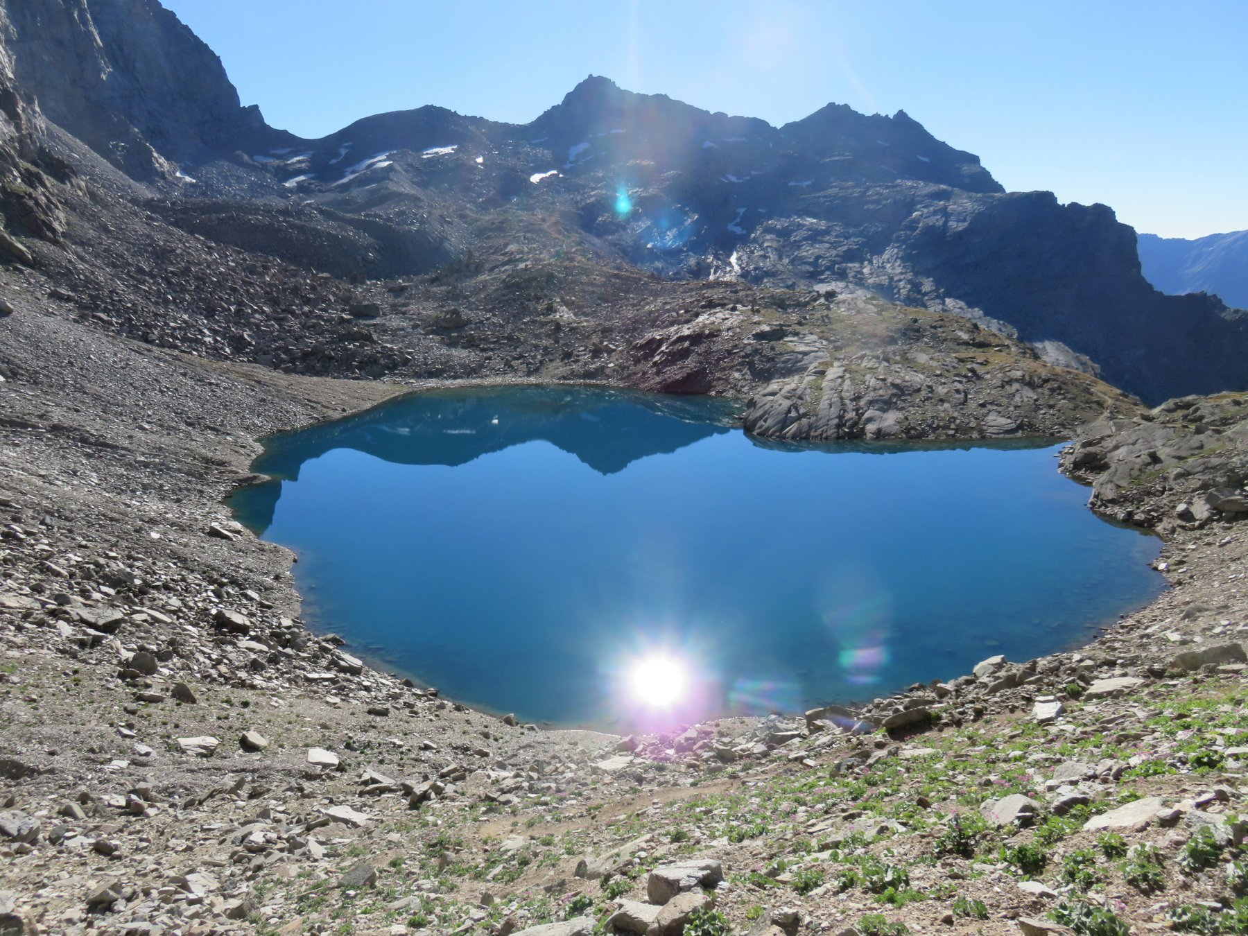 Sole nel Lago Lillet