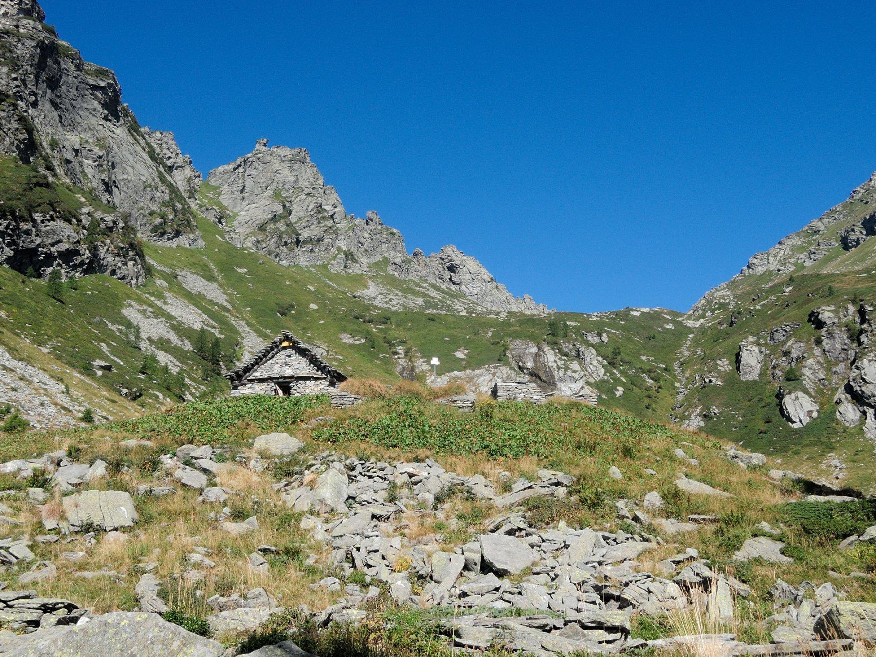 Alpe Ragozzo e Bocchetta omonima