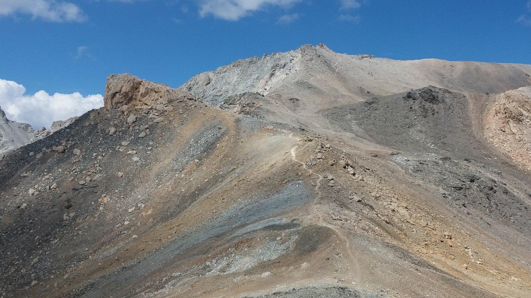 Ambin (Monte) da Grange della Valle per la Cresta E-NE 2016-08-28
