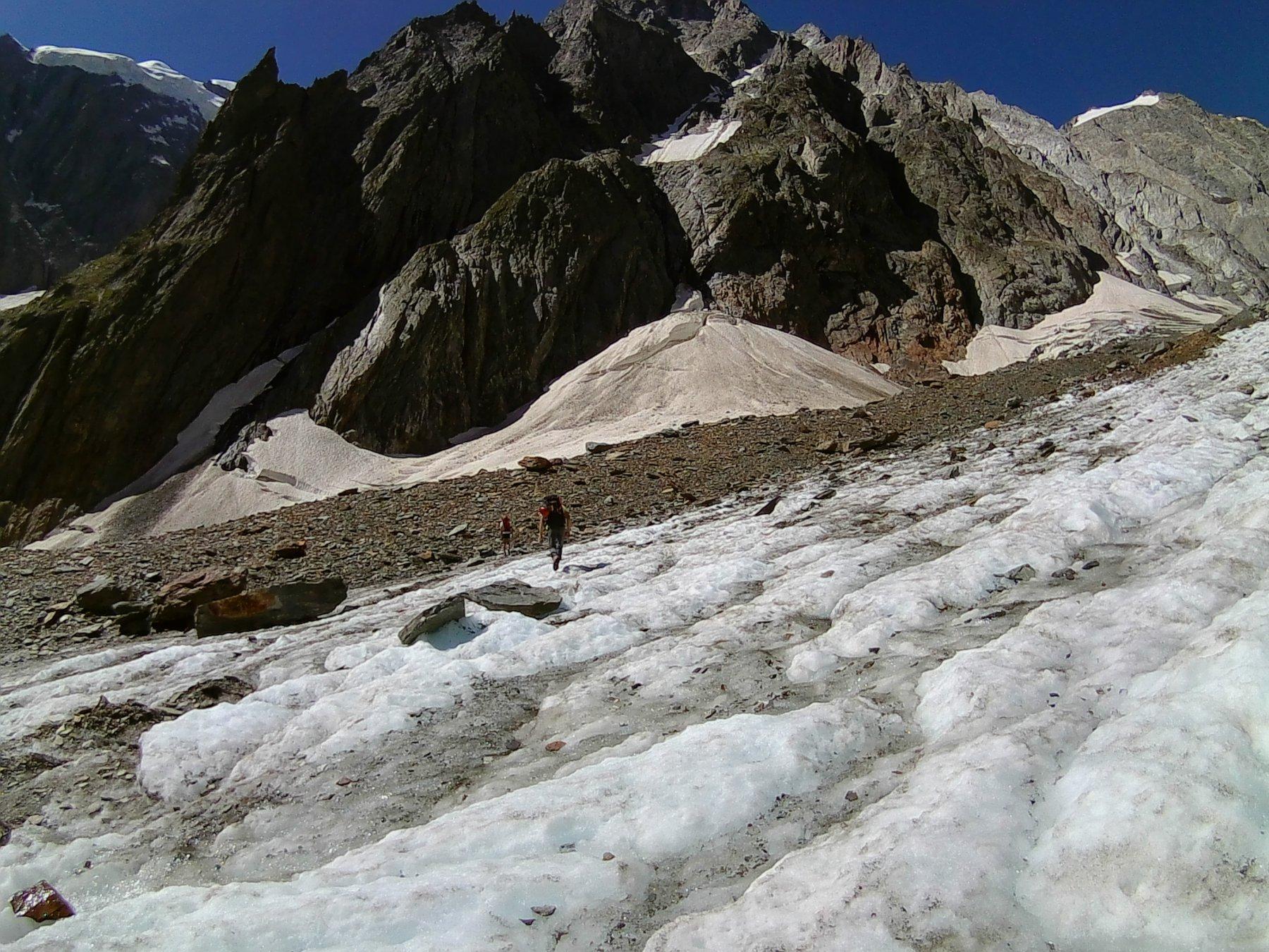 ultima parte del ghiacciaio del Mirage