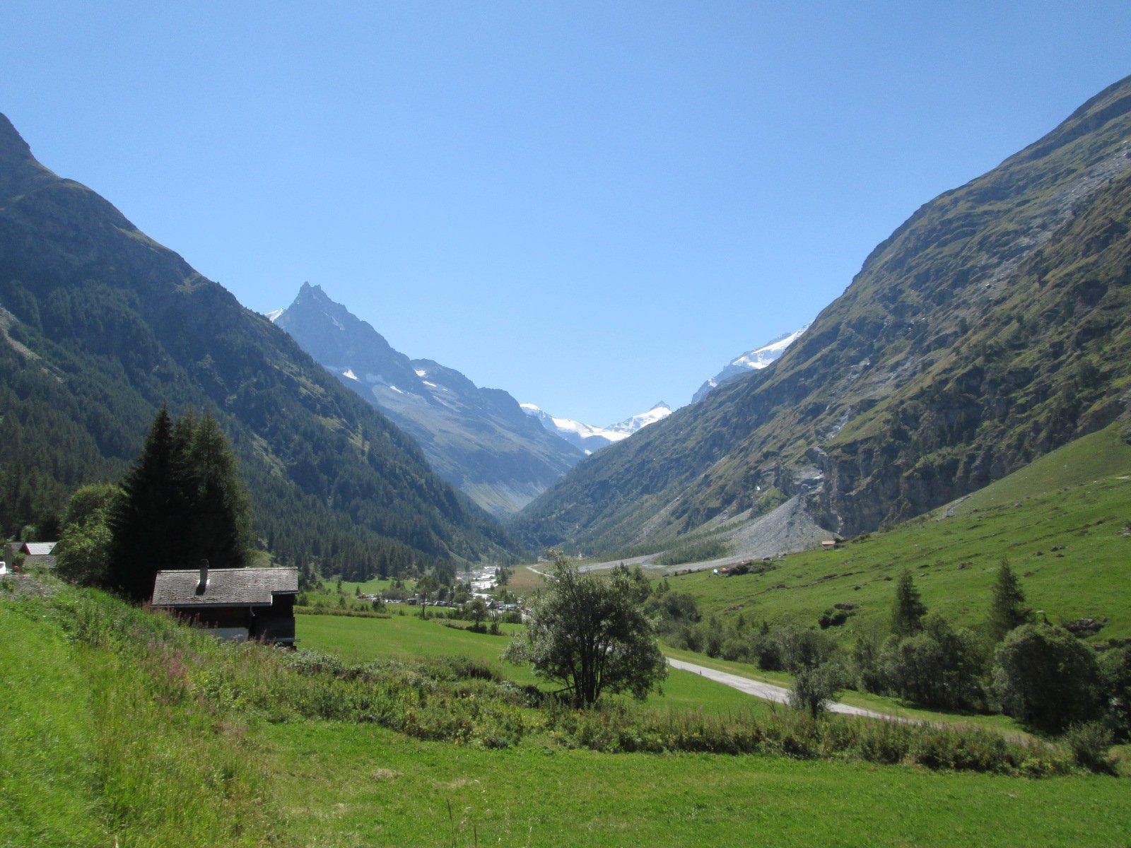 la bellissima valle di Zinal