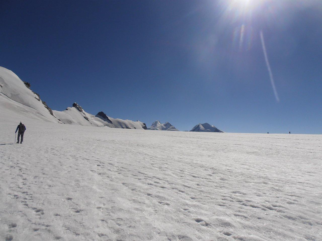 sul Colle del Breithorn