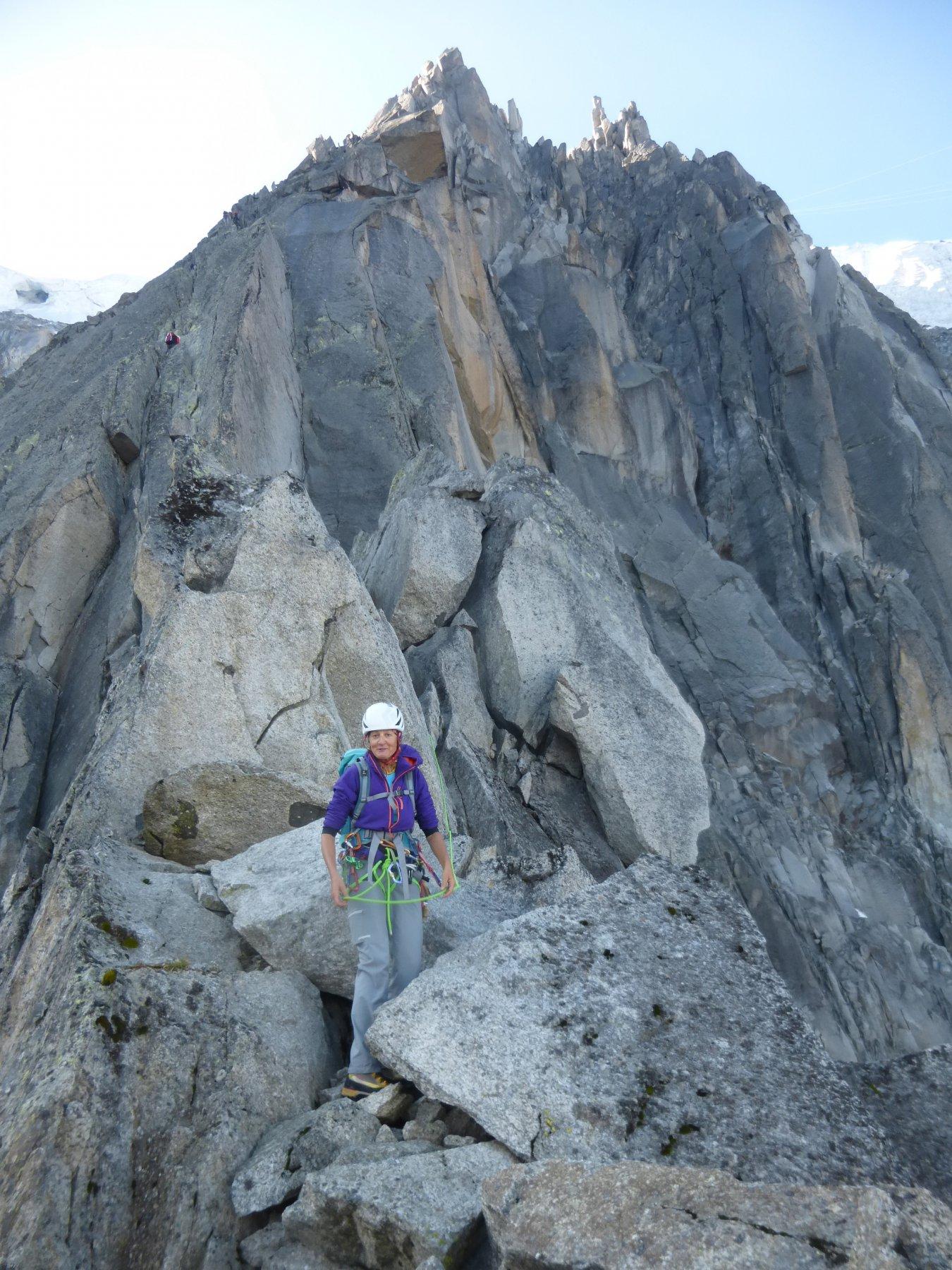 ..lungo il tratto roccioso...