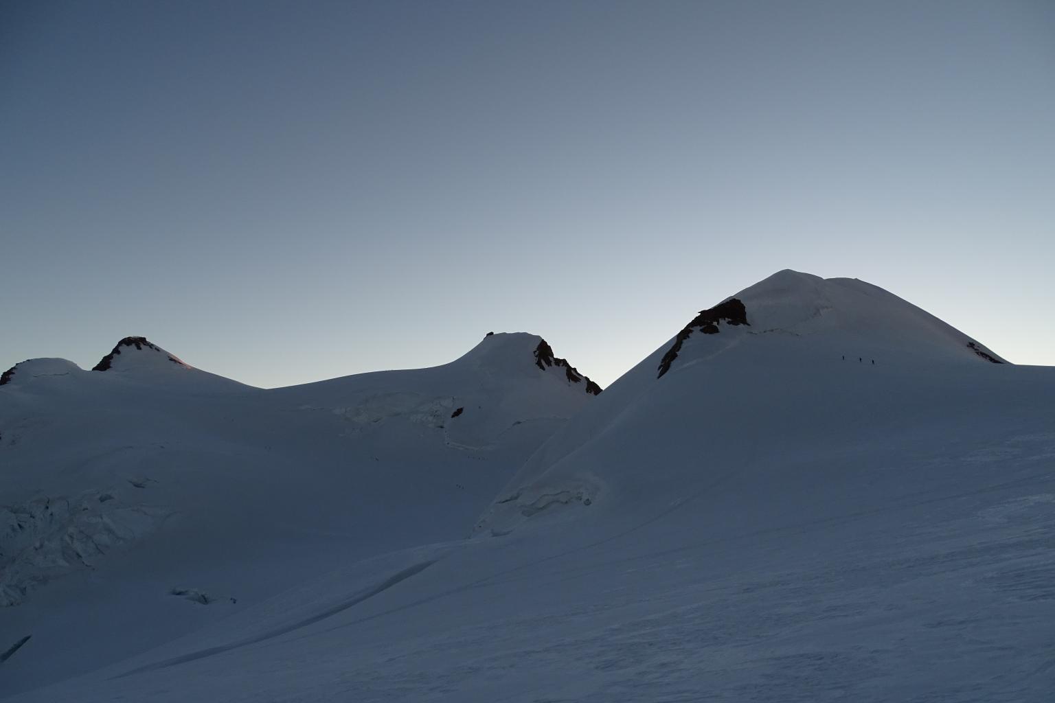 le tre cime in programma da destra a sinistra