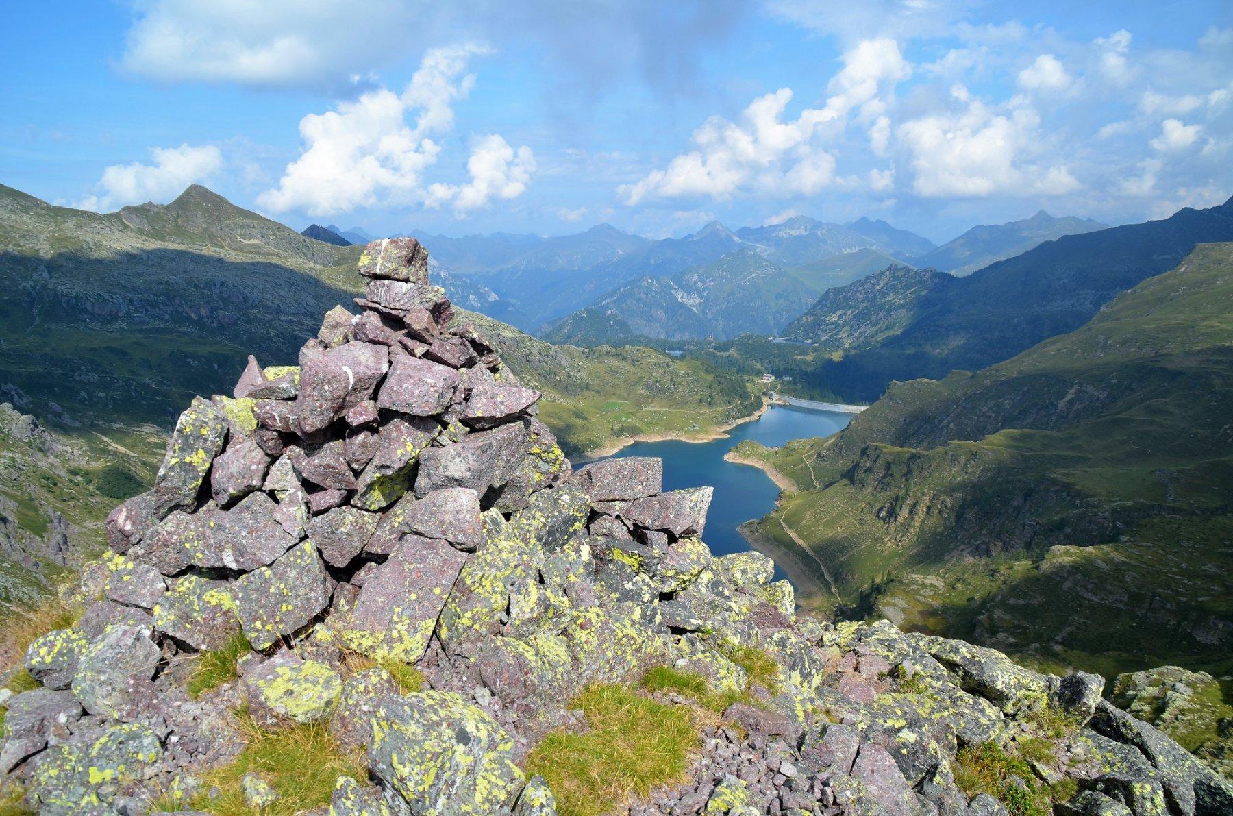 Pizzo Camilla 2225 m e Lago Gemelli