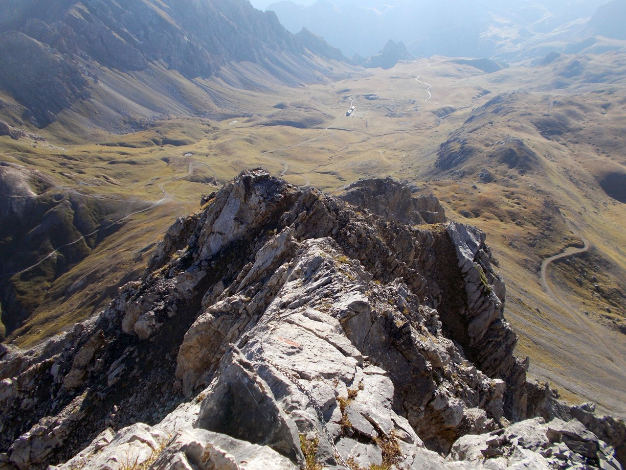Dalla cima verso la Gardetta