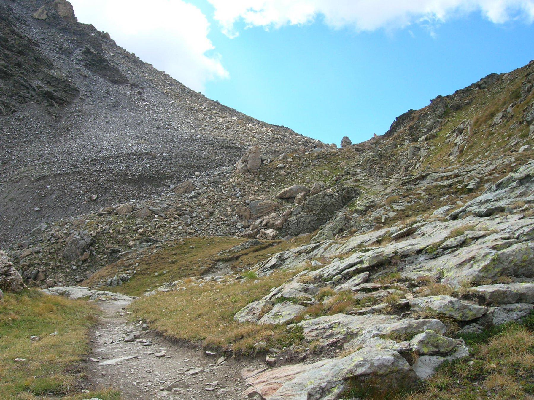 parte alta del Col di Nannaz