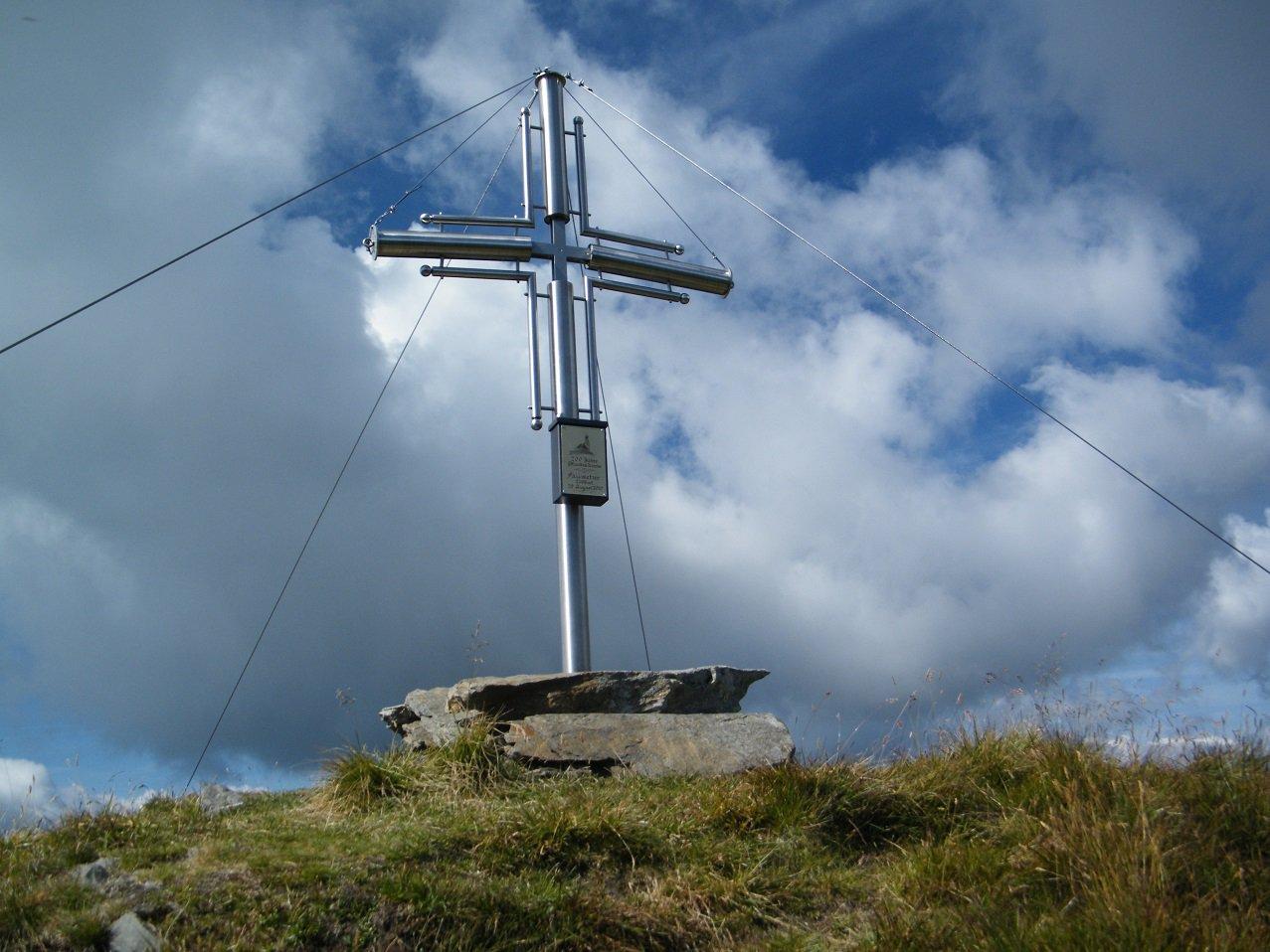 La bella croce di vetta.