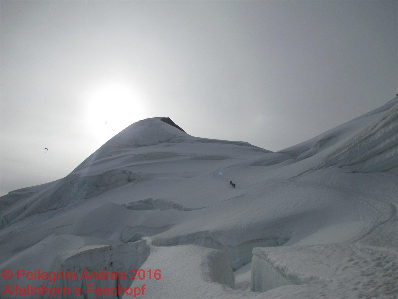 IMG_4911 blocchi di ghiaccio davanti alla cima