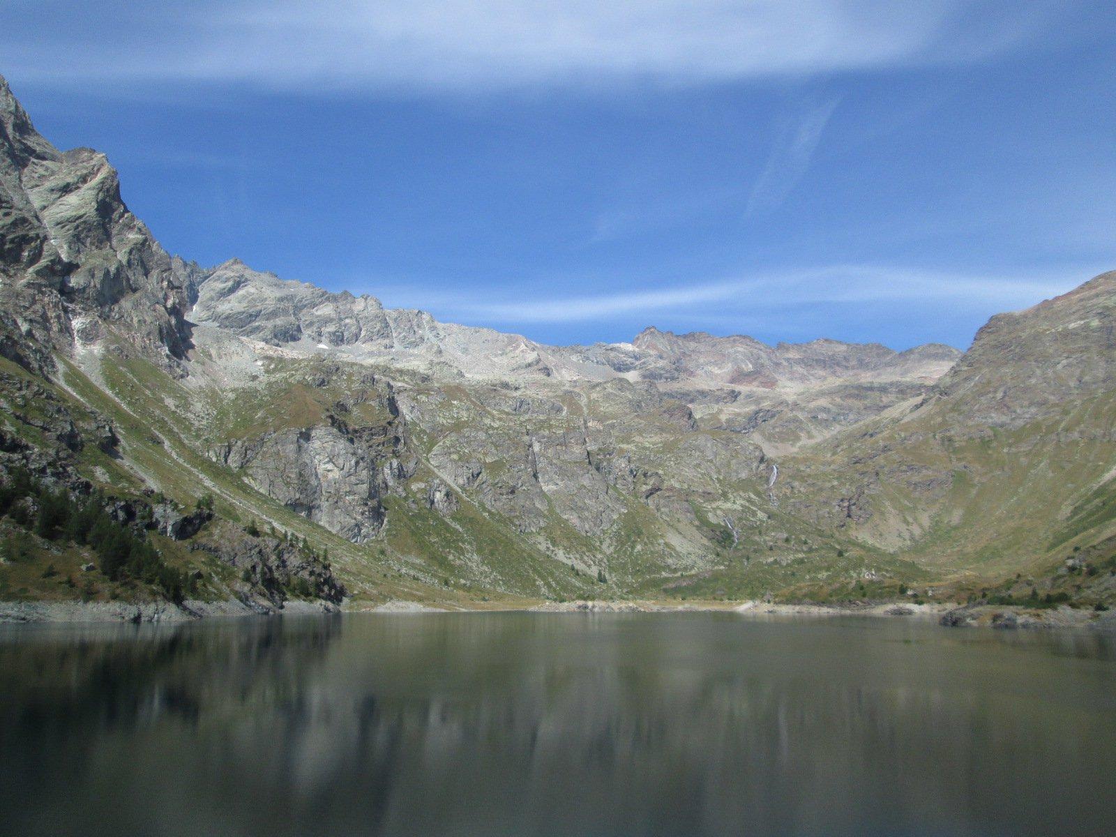 il bellissimo Lago di Cignana