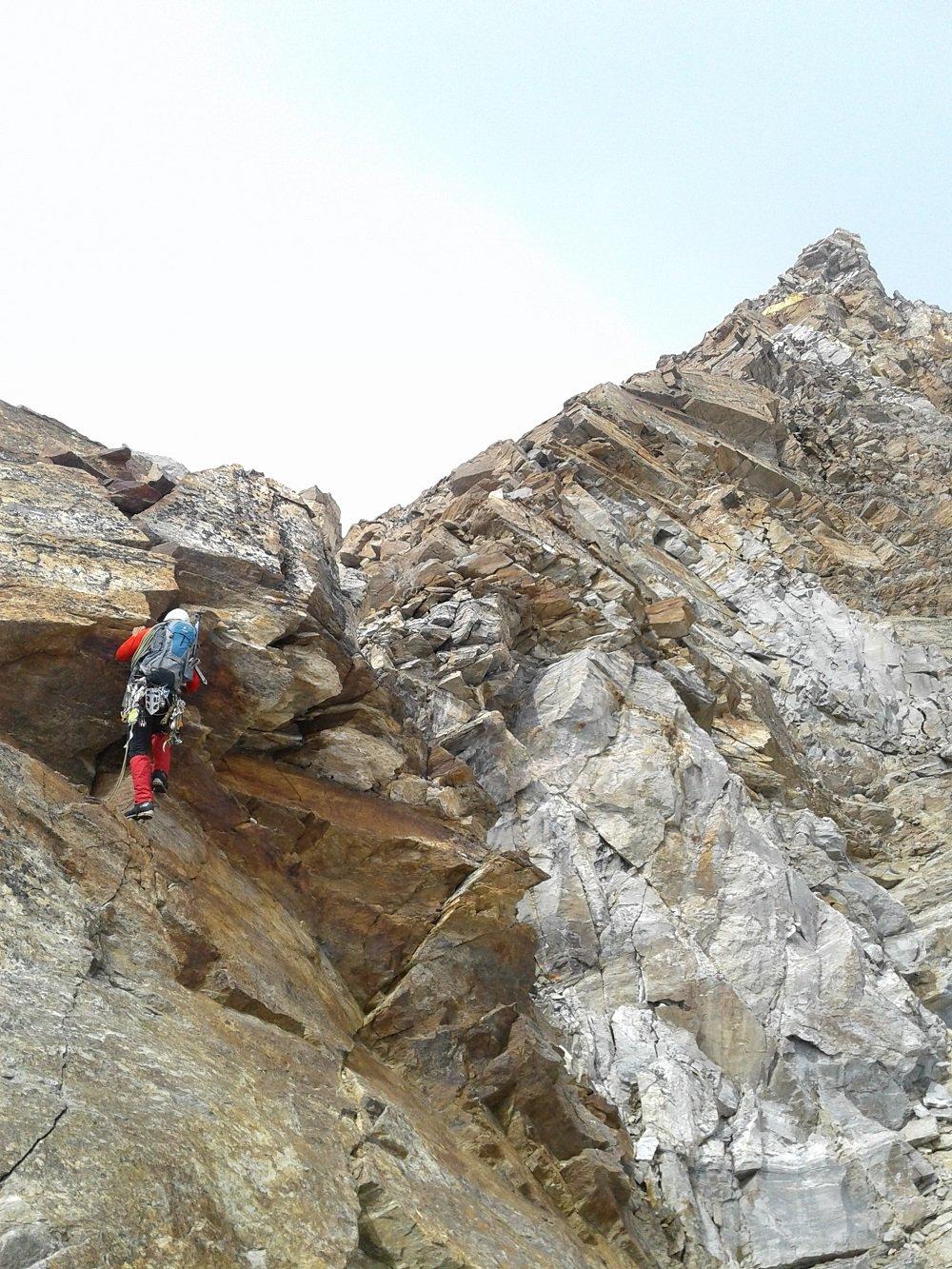 Bei passaggi su roccia
