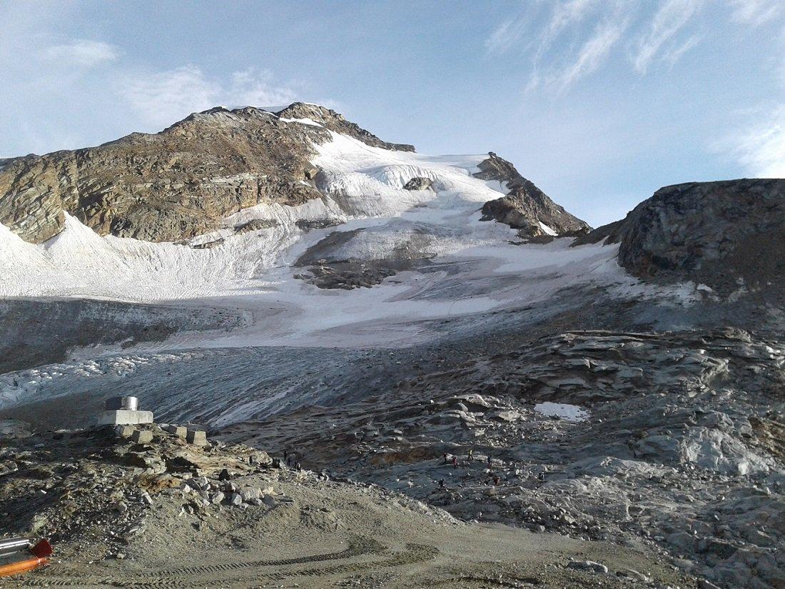 ghiacciaio Indren in condizioni misere...