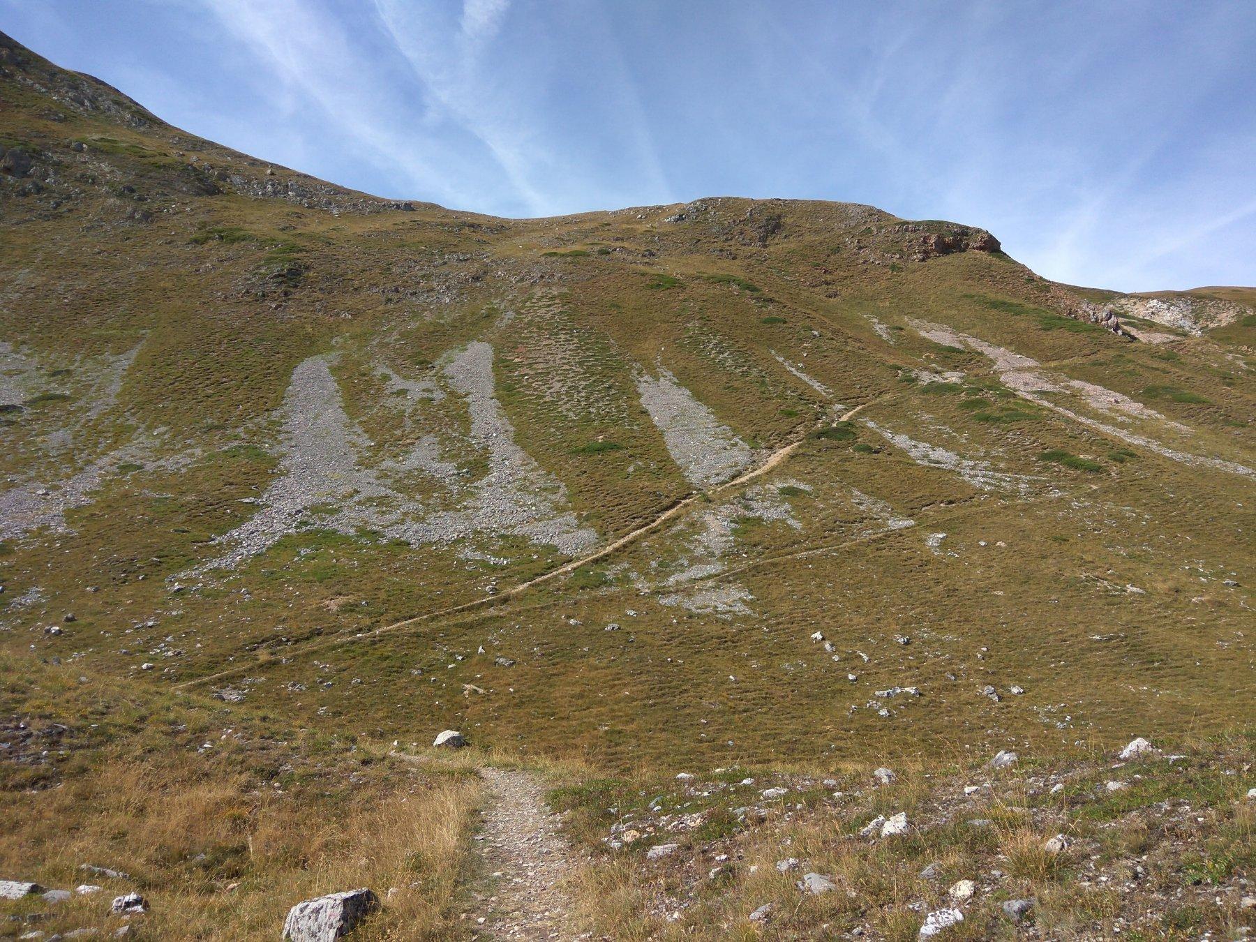 traverso del Replanette come si vede dalla valle