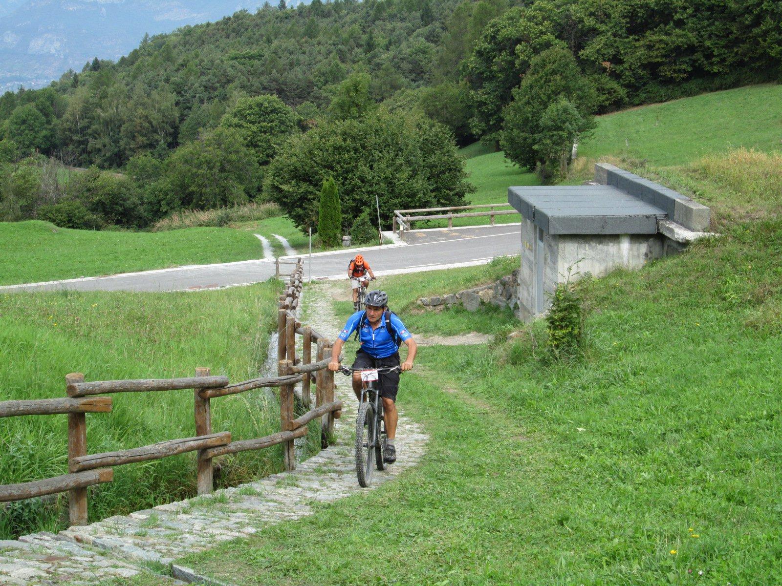 ultima rampa per raggiungere il Mulino