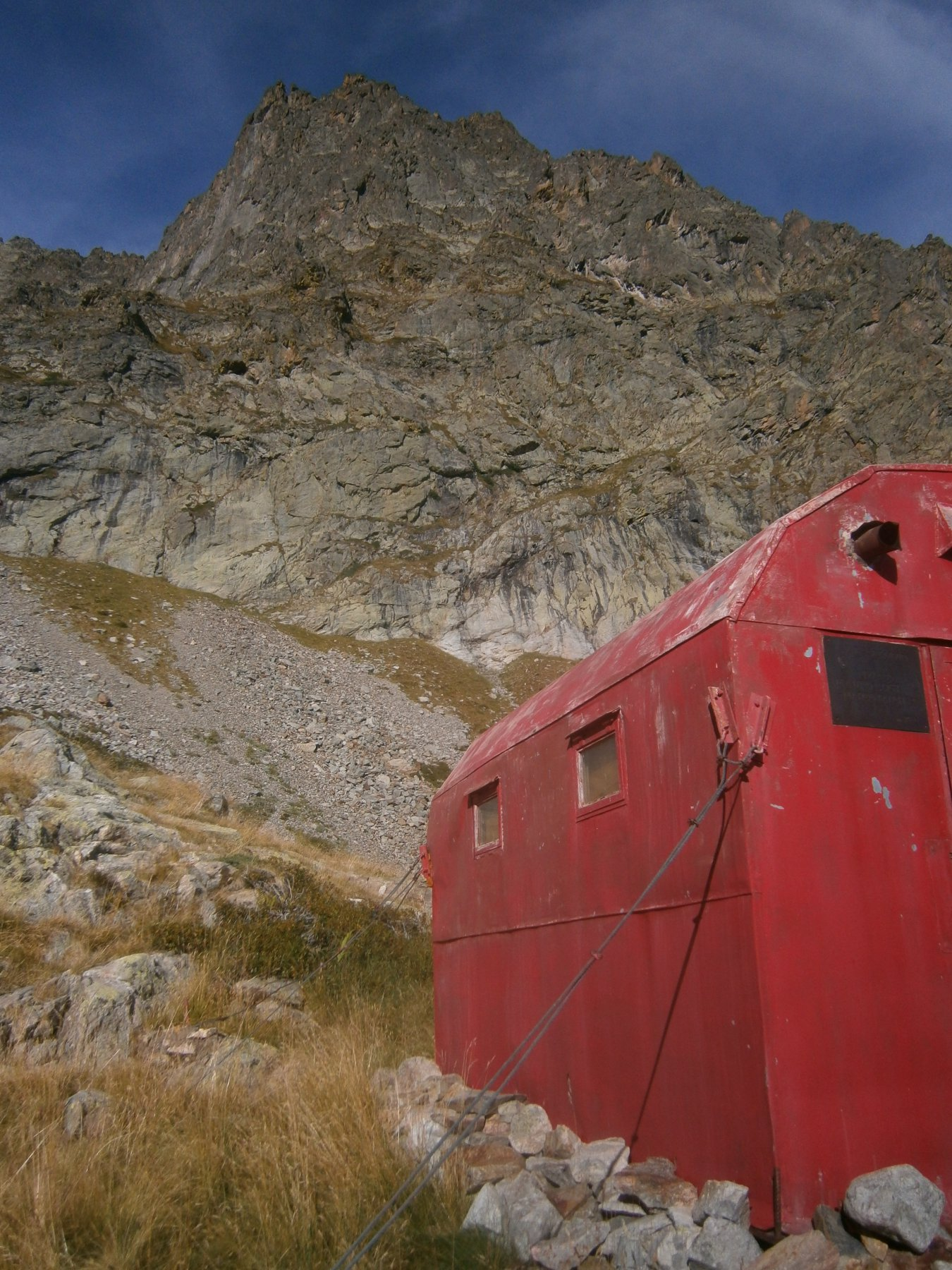 La cima dal bivacco Costi-Falchero