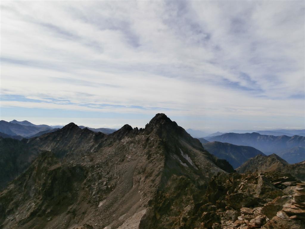 verso il Brocan dalla cima
