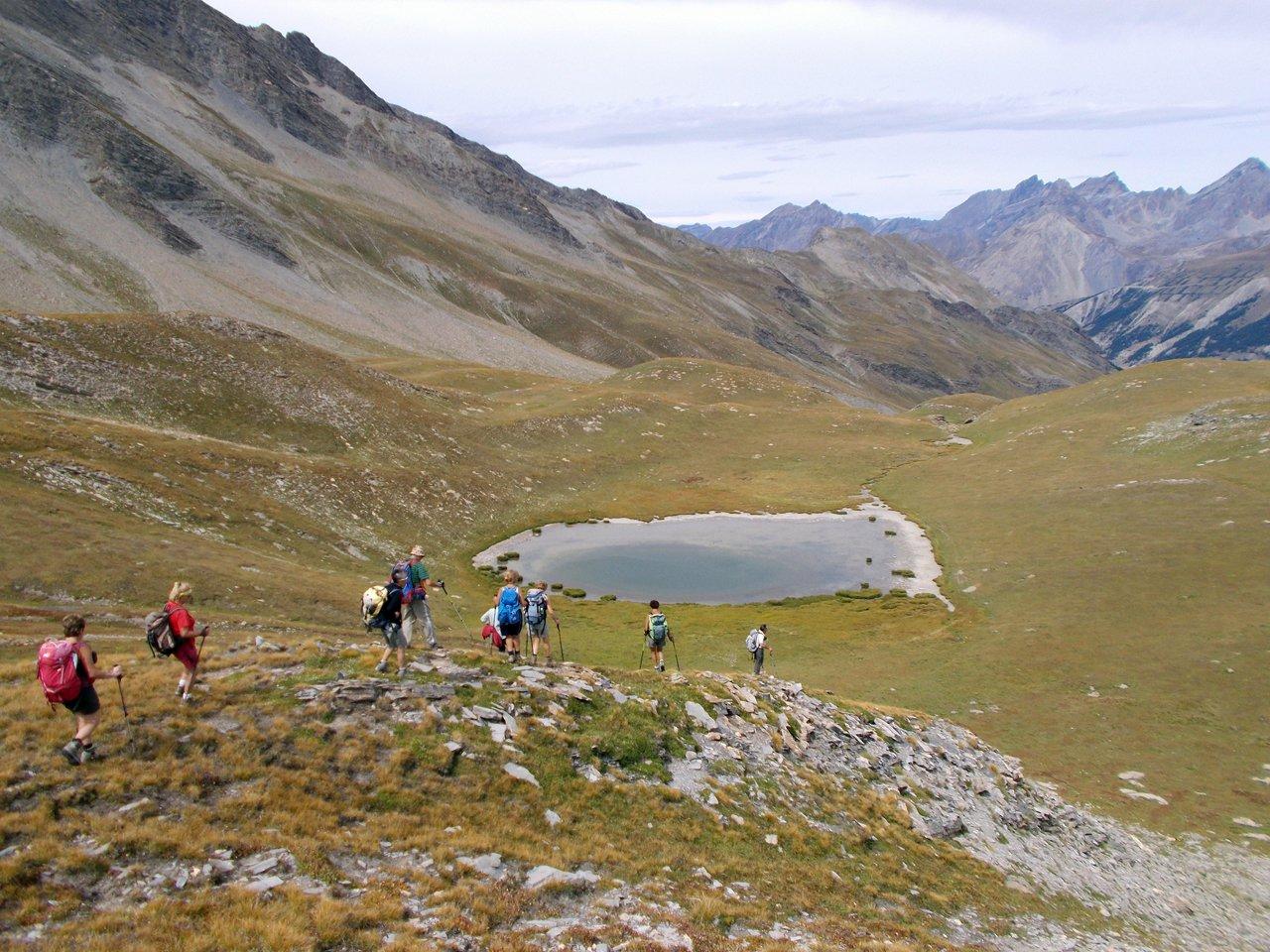 Vallon du Parassac e  Lac du Quartier d'Aout