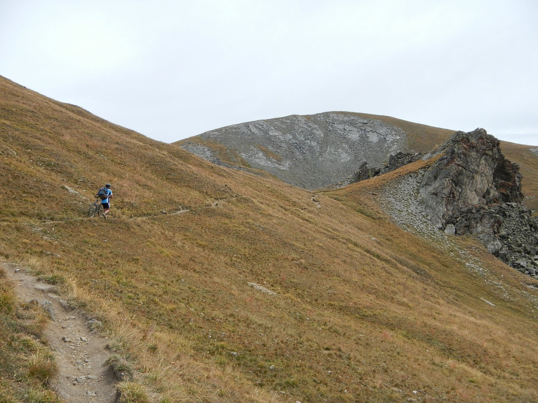 breve risalita al Col Longet 2701 m.