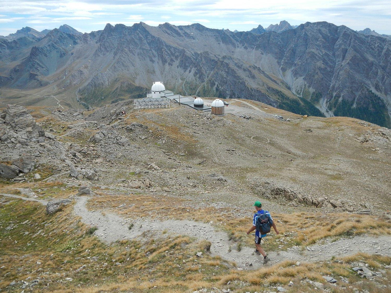 il breve tratto dalla cima all'Osservatorio
