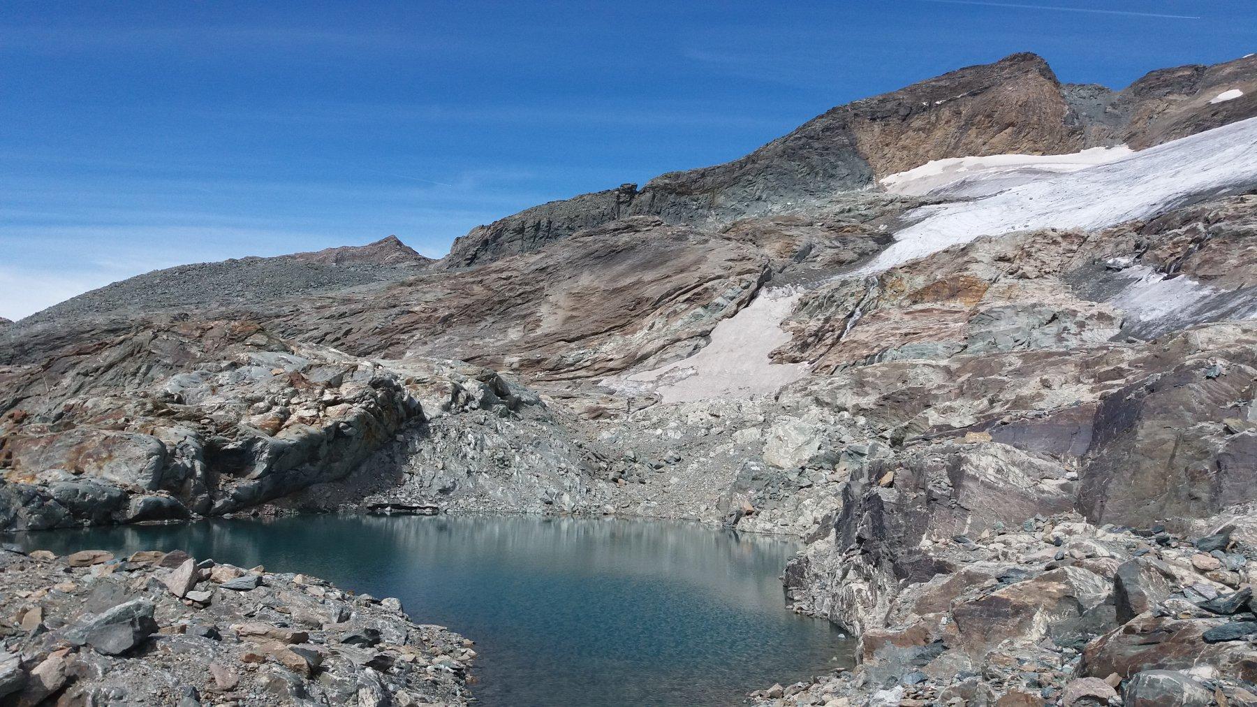 Il bel laghetto glaciale