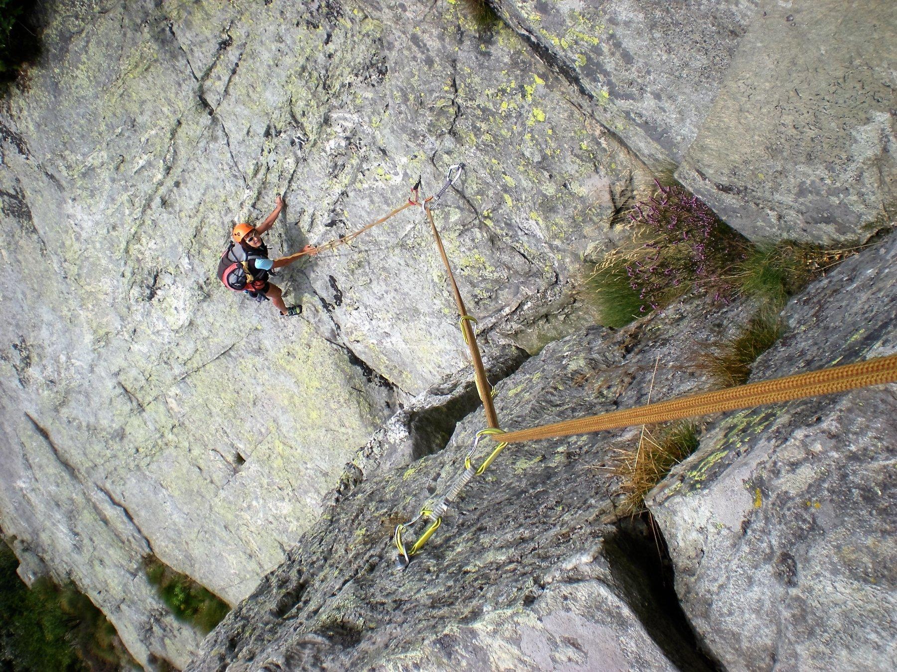 Oriana (Placche di) - Settore Destro Via degli scialpinisti 2016-09-04