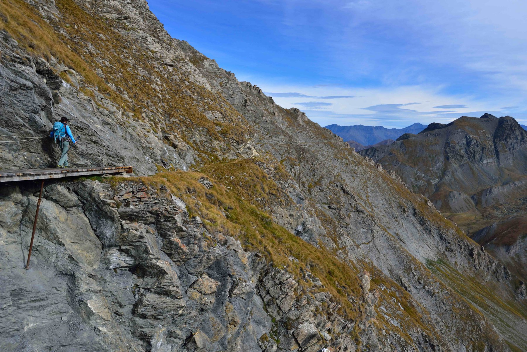 Passerella sul Sentiero degli Alpini