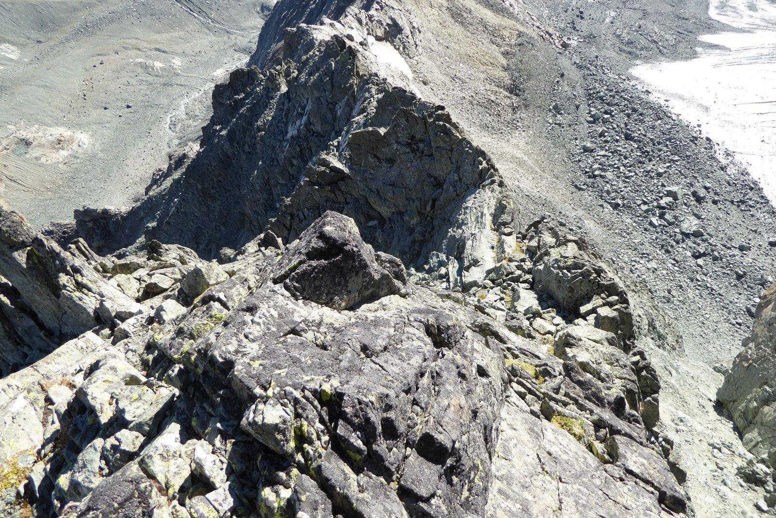 cresta vista dall'alto