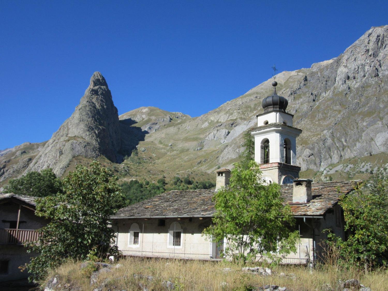 Rocca Provenzale vista da Chiappera