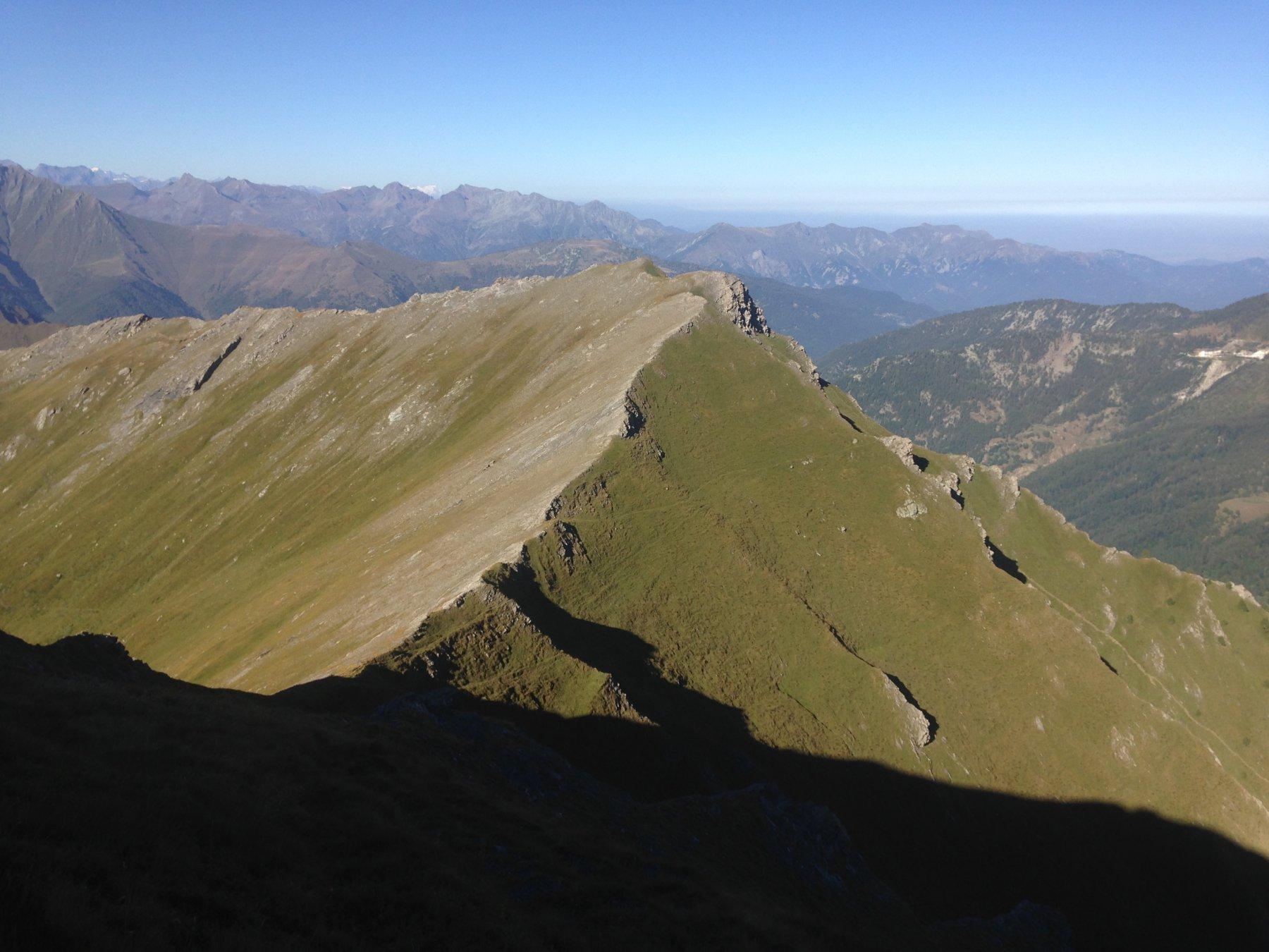 Il monte Selletta dalla cresta