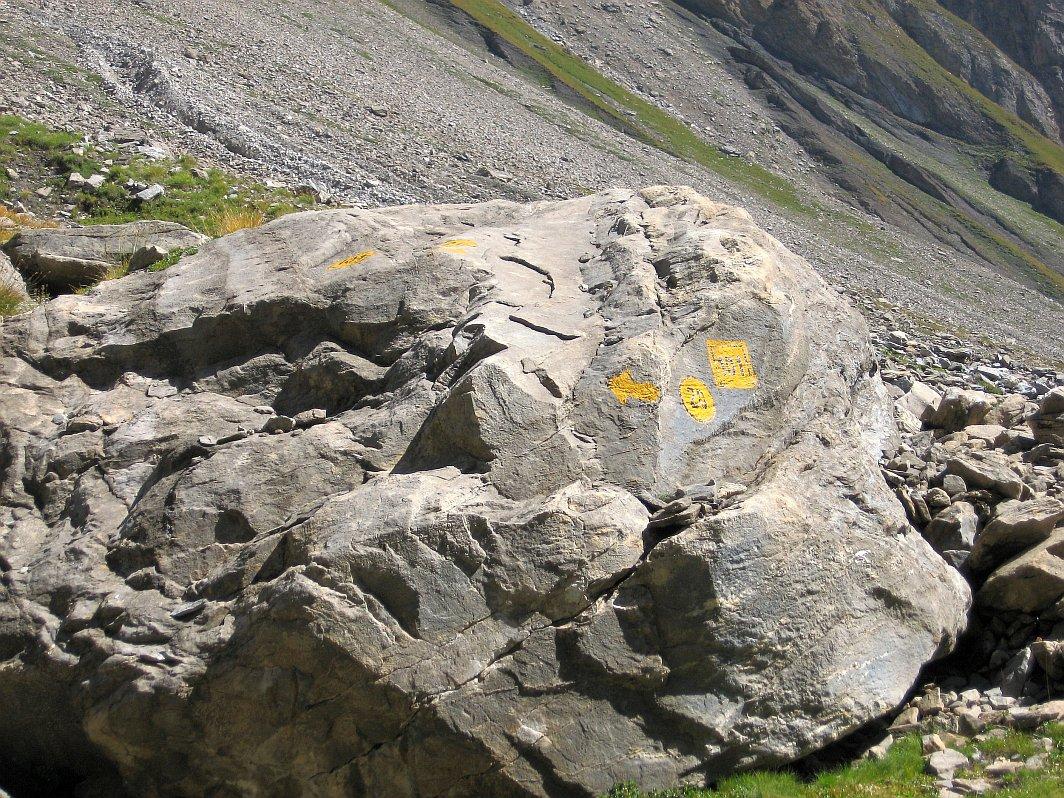 Sopra l'Alpe Gran Plan: andare verso sinistra!