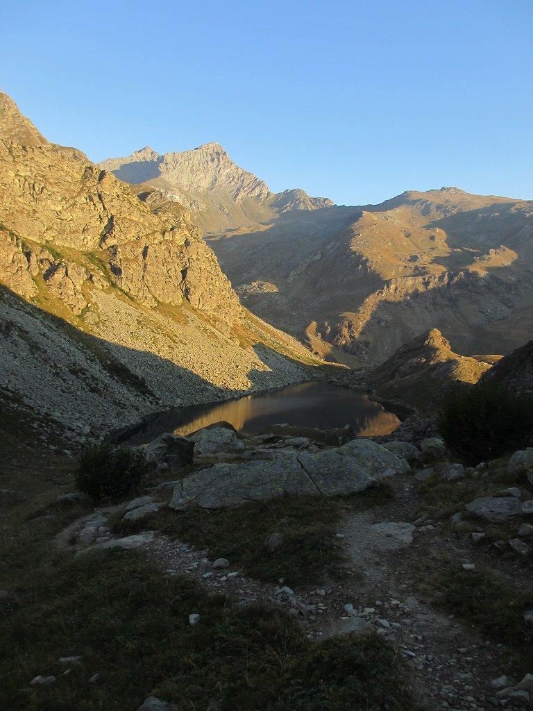 Lago Fiorenza al mattino