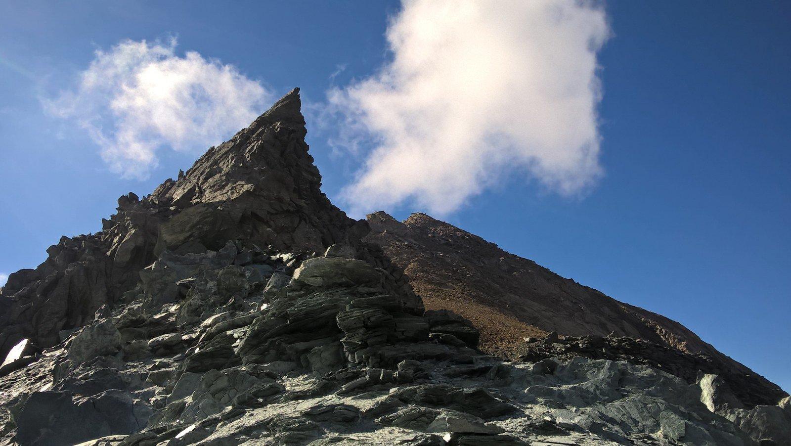 Tuf (Punta del) da Valnontey per il Col Lauson 2016-09-09