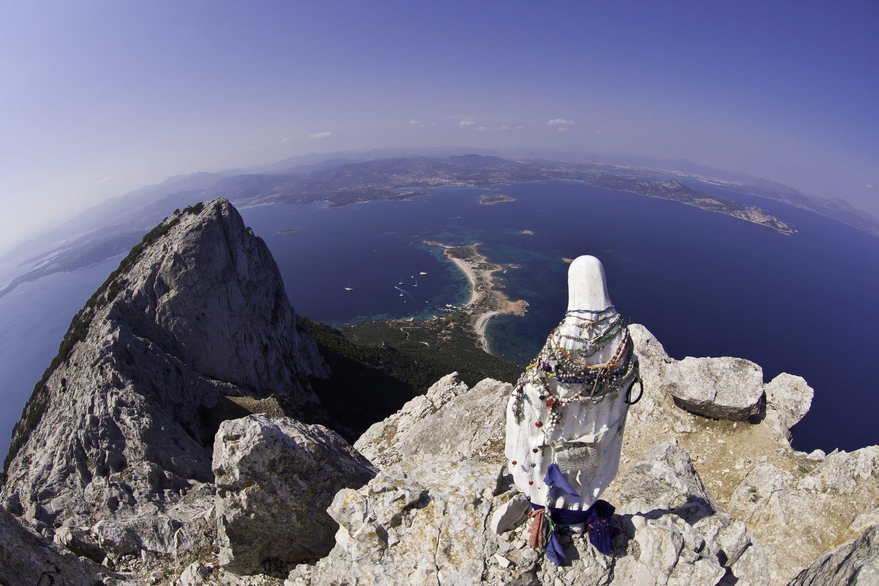 Panorama eccezionale dalla cima