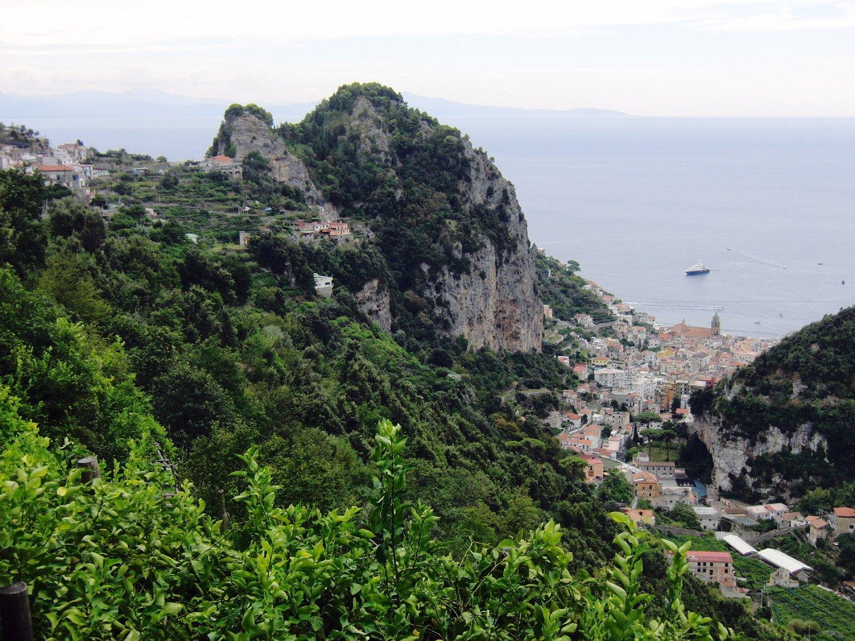 Vista su Amalfi