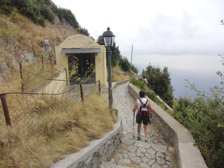 Scendendo verso Amalfi