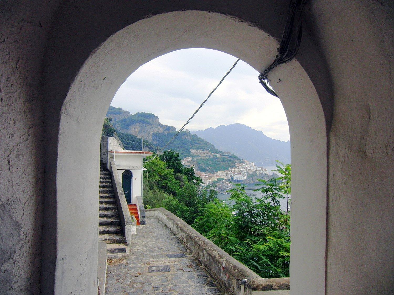 Sul sentiero balcone verso Amalfi