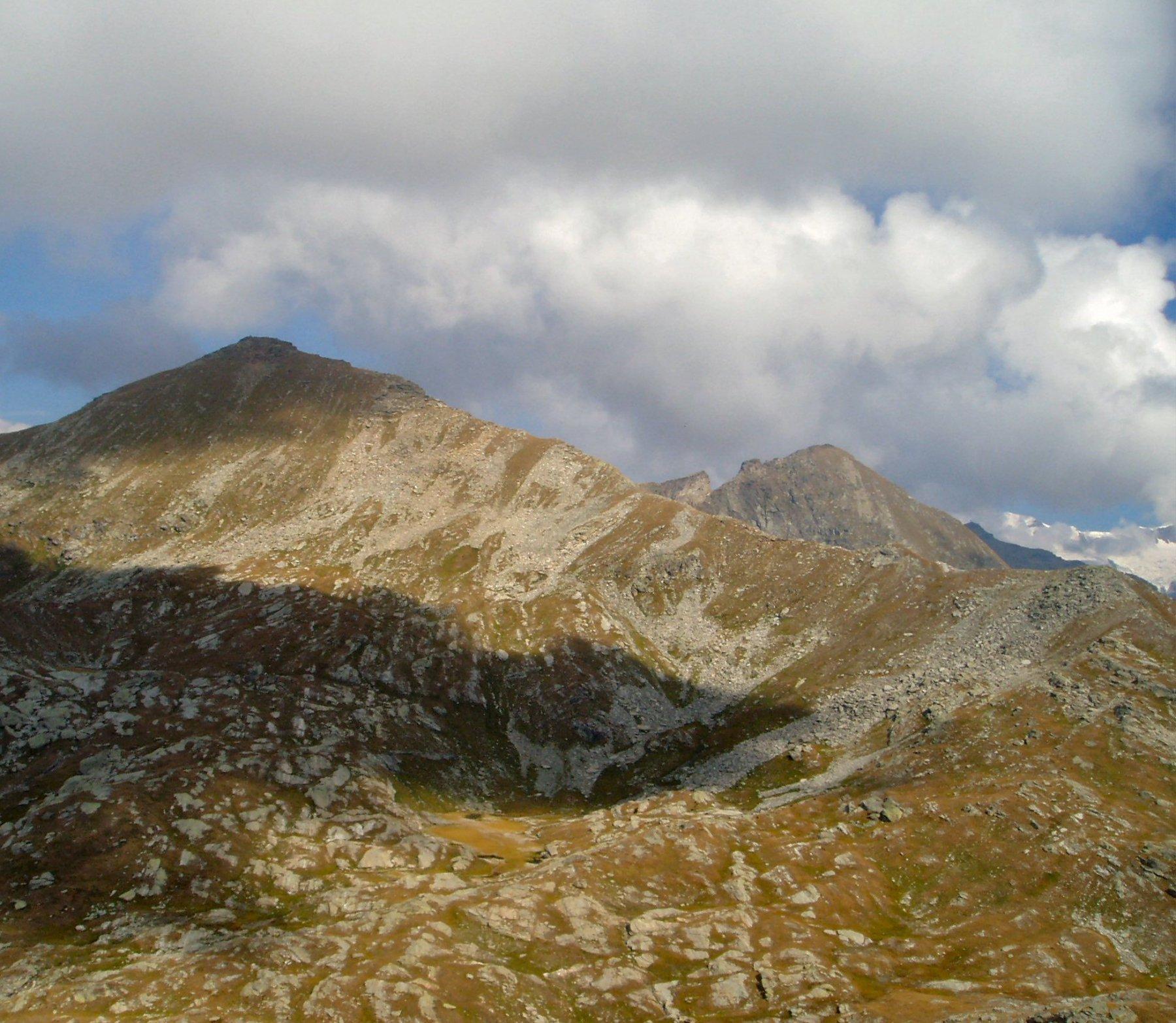 La cresta di P. Valfredda.