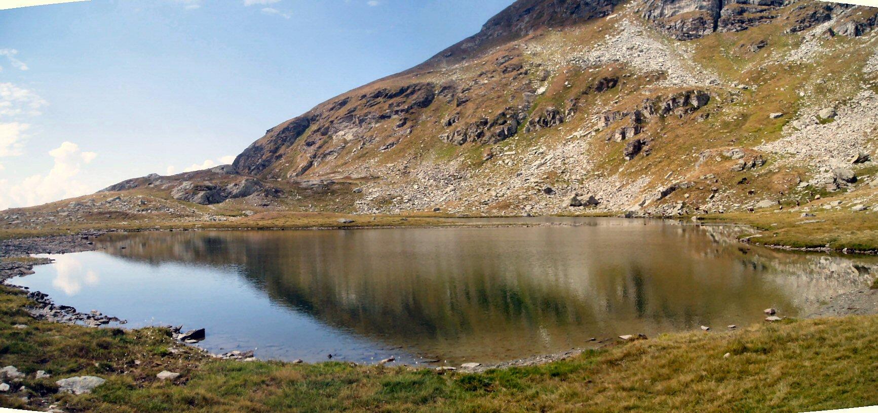 Uno dei laghi.
